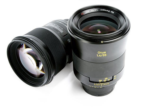 Sigma's 50mm f/1.4 DG HSM Art and the Zeiss Otus 55mm f/1.4: two of the sharpest lenses currently available