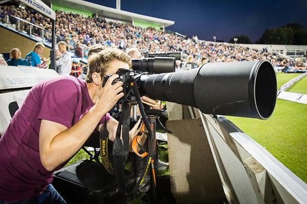 Long lenses will always be needed for sport