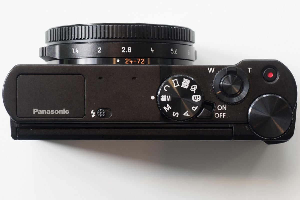 Panasonic Lumix Dmc Lx15 Review Amateur Photographer Lx10 Digital Camera Black Top